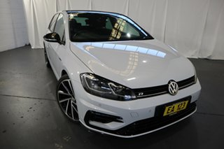 2018 Volkswagen Golf 7.5 MY18 R DSG 4MOTION Grid Edition White 7 Speed Sports Automatic Dual Clutch.