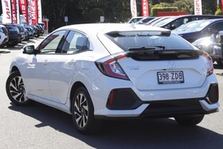 2019 Honda Civic 10th Gen MY19 +Luxe White 1 Speed Constant Variable Hatchback.