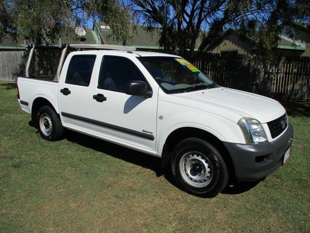 Used Holden Rodeo RA MY06 LX Crew Cab 4x2 Kippa-Ring, 2006 Holden Rodeo RA MY06 LX Crew Cab 4x2 White 5 Speed Manual Utility