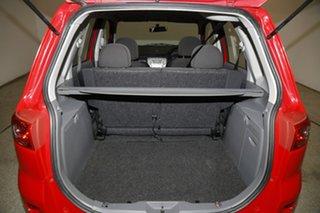 2007 Mazda 2 DY10Y2 Genki Red 4 Speed Automatic Hatchback