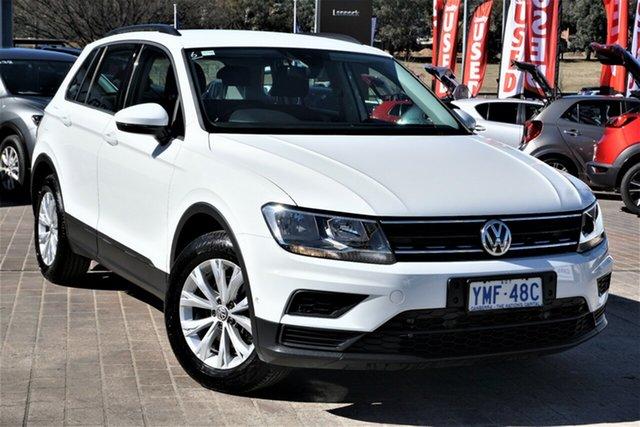 Used Volkswagen Tiguan 5N MY16 118TSI 2WD Phillip, 2016 Volkswagen Tiguan 5N MY16 118TSI 2WD Pure White 6 Speed Manual Wagon