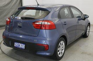2016 Kia Rio UB MY16 S Blue 6 Speed Manual Hatchback