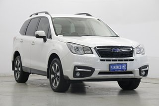 2017 Subaru Forester S4 MY17 2.5i-L CVT AWD Pearl White 6 Speed Constant Variable Wagon