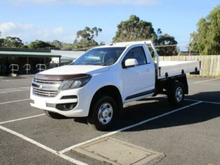 2017 Holden Colorado RG Turbo LS (4x4) White Automatic Cab Chassis.