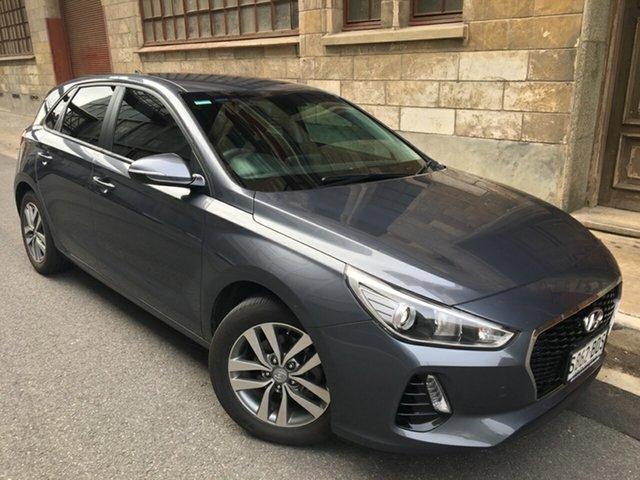 Used Hyundai i30 PD MY18 Active Cheltenham, 2017 Hyundai i30 PD MY18 Active Iron Gray 6 Speed Manual Hatchback