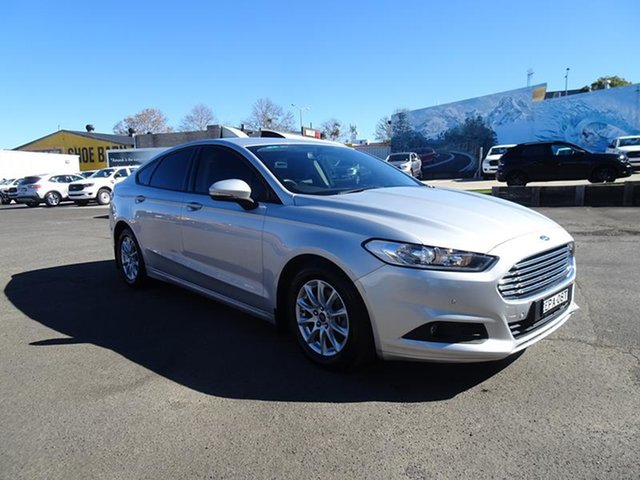 Used Ford Mondeo MD 2017.00MY Ambiente Nowra, 2017 Ford Mondeo MD 2017.00MY Ambiente Silver 6 Speed Automatic Hatchback