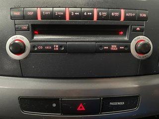 2011 Mitsubishi Lancer CJ MY11 SX Black Pearl 5 Speed Manual Sedan