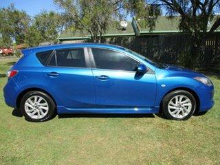 2013 Mazda 3 BL10F2 MY13 Maxx Sport Blue 6 Speed Manual Sedan.