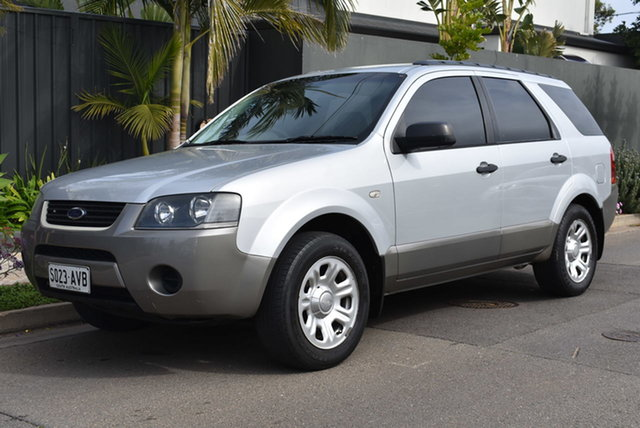 Used Ford Territory SY TX Brighton, 2008 Ford Territory SY TX Silver 4 Speed Sports Automatic Wagon
