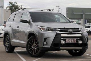 2018 Toyota Kluger GSU55R Grande AWD Silver 8 Speed Sports Automatic Wagon.