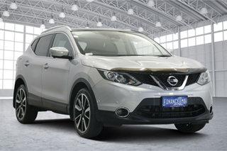 2014 Nissan Qashqai J11 TS Silver 1 Speed Constant Variable Wagon.