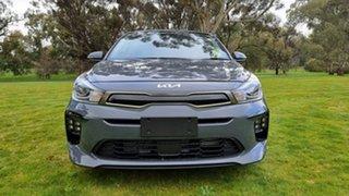 2021 Kia Rio YB MY21 GT-Line DCT Perennial Grey 7 Speed Automatic Hatchback.