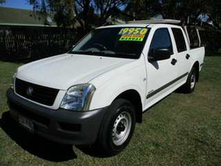 2006 Holden Rodeo RA MY06 LX Crew Cab 4x2 White 5 Speed Manual Utility