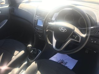 2014 Hyundai Accent RB2 MY15 Active White 6 Speed Manual Hatchback