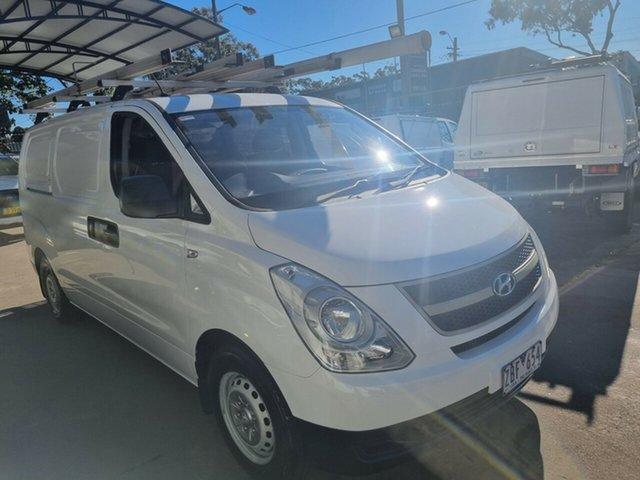 Used Hyundai iLOAD TQ MY11 Bankstown, 2012 Hyundai iLOAD TQ MY11 White 5 Speed Manual Van