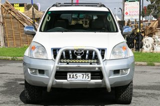 2004 Toyota Landcruiser Prado KZJ120R Grande White 4 Speed Automatic Wagon
