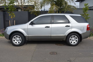 2008 Ford Territory SY TX Silver 4 Speed Sports Automatic Wagon.