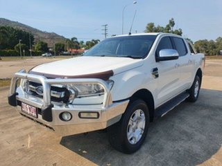 2015 Ford Ranger PX MkII XLT Double Cab Cool White 6 Speed Sports Automatic Utility