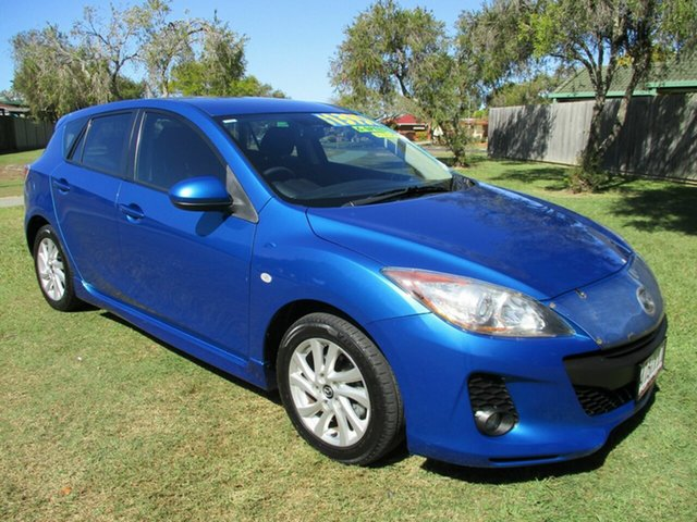 Used Mazda 3 BL10F2 MY13 Maxx Sport Kippa-Ring, 2013 Mazda 3 BL10F2 MY13 Maxx Sport Blue 6 Speed Manual Sedan