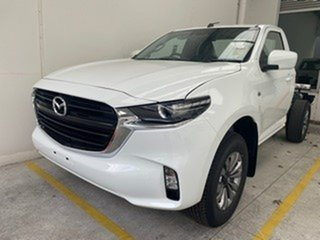 2021 Mazda BT-50 TFR40J XT 4x2 White 6 Speed Sports Automatic Cab Chassis