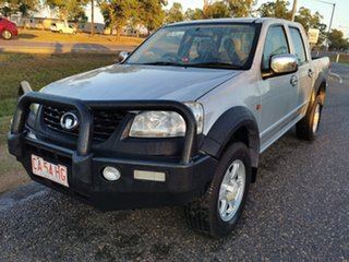 2012 Great Wall V200 K2 MY12 Silver 6 Speed Manual Utility.