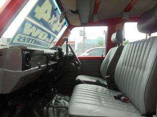 1997 Toyota Landcruiser HZJ75RV Troopcarrier Red 5 Speed Manual Hardtop