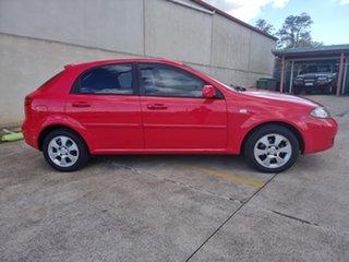 2008 Holden Viva JF MY08 Red 5 Speed Manual Hatchback