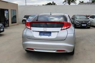 2013 Honda Civic 9th Gen MY13 VTi-S Silver 6 Speed Manual Hatchback