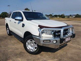 2015 Ford Ranger PX MkII XLT Double Cab Cool White 6 Speed Sports Automatic Utility.