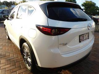 2018 Mazda CX-5 KF4WLA Touring SKYACTIV-Drive i-ACTIV AWD White 6 Speed Sports Automatic Wagon