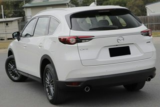 2021 Mazda CX-8 KG2WLA Sport SKYACTIV-Drive FWD Snowflake White Pearl 6 Speed Sports Automatic Wagon.