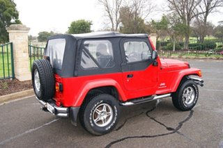 2003 Jeep Wrangler TJ Sport (4x4) Red 5 Speed Manual 4x4 Softtop