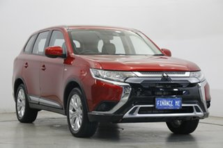 2020 Mitsubishi Outlander ZL MY20 ES AWD Red Diamond 6 Speed Constant Variable Wagon