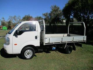 2009 Kia K2900 PU3 White 5 Speed Manual Cab Chassis