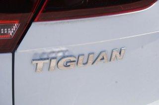 2016 Volkswagen Tiguan 5N MY16 118TSI 2WD Pure White 6 Speed Manual Wagon