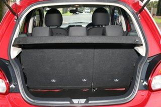 2013 Mitsubishi Mirage LA MY14 ES Red 1 Speed Constant Variable Hatchback