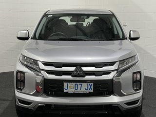 2020 Mitsubishi ASX XD MY20 ES 2WD Sterling Silver 1 Speed Constant Variable Wagon.