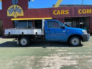 2012 Toyota Hilux TGN16R MY12 Workmate 4x2 5 Speed Manual Cab Chassis.