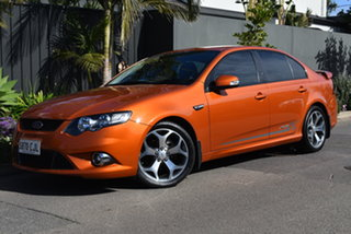 2010 Ford Falcon FG XR6 50th Anniversary Orange 6 Speed Sports Automatic Sedan.