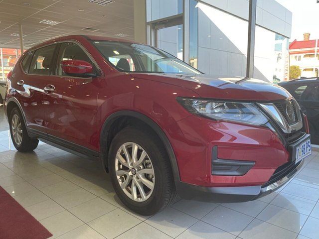 Used Nissan X-Trail T32 Series II ST X-tronic 2WD Launceston, 2020 Nissan X-Trail T32 Series II ST X-tronic 2WD Ruby Red 7 Speed Constant Variable Wagon