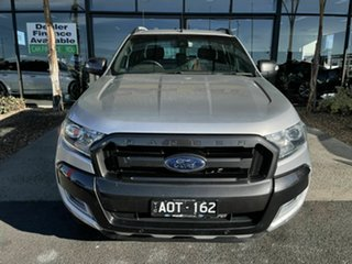 2017 Ford Ranger PX MkII MY17 Update Wildtrak 3.2 (4x4) Silver 6 Speed Automatic Dual Cab Pick-up.