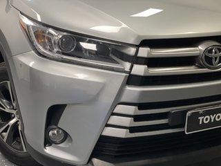 2017 Toyota Kluger GSU55R GX AWD Silver 8 Speed Sports Automatic Wagon.