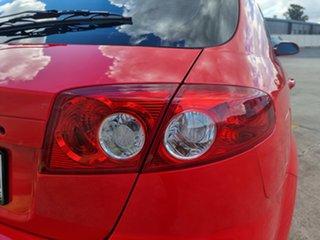 2008 Holden Viva JF MY08 Red 5 Speed Manual Hatchback.