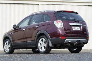 2012 Holden Captiva CG Series II 7 AWD LX Red 6 Speed Sports Automatic Wagon.