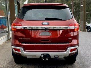 2019 Ford Everest UA II 2019.00MY Titanium Red 10 Speed Sports Automatic SUV