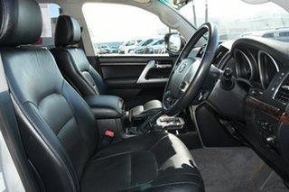 2013 Toyota Landcruiser VDJ200R MY12 VX Silver Pearl 6 Speed Sports Automatic Wagon
