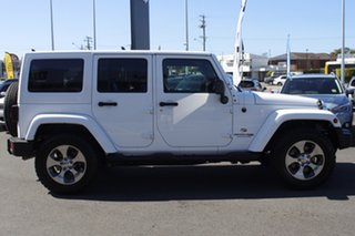 2017 Jeep Wrangler JK MY18 Unlimited Overland White 5 Speed Automatic Hardtop.