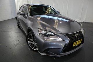 2015 Lexus IS GSE31R IS350 F Sport Grey 8 Speed Sports Automatic Sedan.