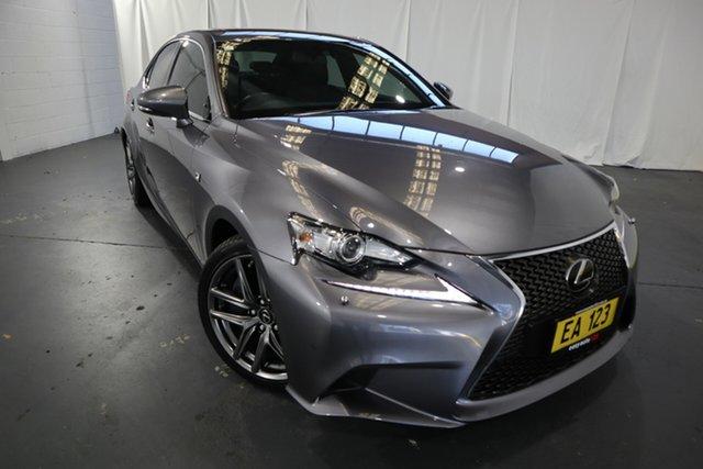 Used Lexus IS GSE31R IS350 F Sport Castle Hill, 2015 Lexus IS GSE31R IS350 F Sport Grey 8 Speed Sports Automatic Sedan