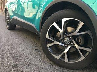 2017 Toyota C-HR NGX10R Koba S-CVT 2WD Aqua Green 7 Speed Constant Variable Wagon